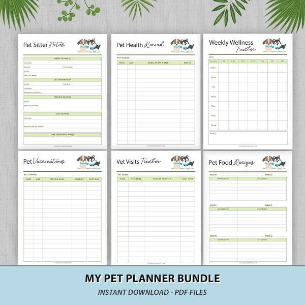 Pet Care Organizer