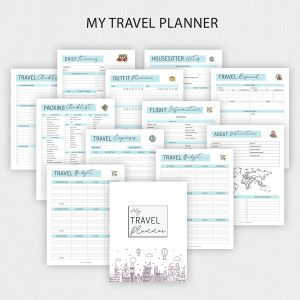 Printable Travel Planner Bundle
