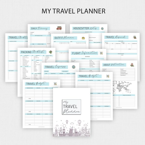 Printable Travel Planner