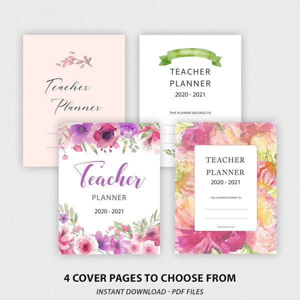 Teacher Planner Binder Printable