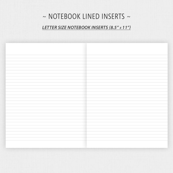 Printable Notebook Lined Paper